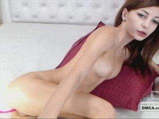 evushka1 blonde cam girl gets sticky sperm onto her beautiful face