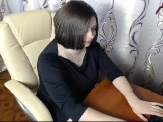 sophiamylovee1 brunette cam girl welcomes favorite ohmibod into her ass