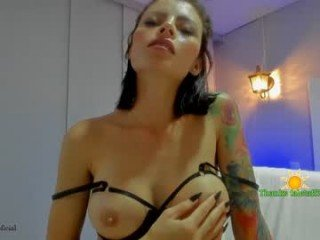 helensun_oficial brunette latina cam babe gets fucked with ohmibod really hard