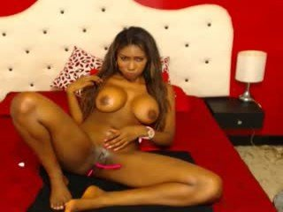 ebonytabu cam girl strong fucked in the pink ass