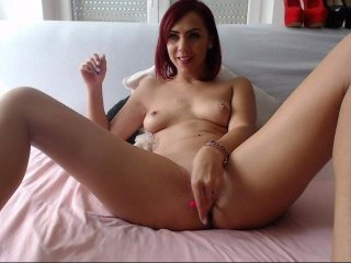 dreamermaid european cam babe offers her shaved pussy for live sex experiments online